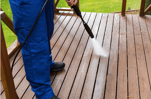 deck cleaning boston