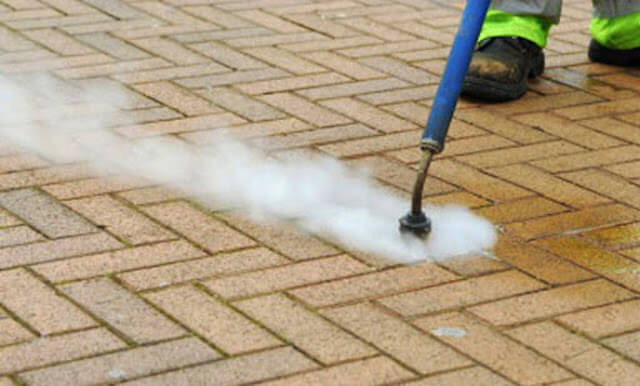 commercial concrete cleaning in boston
